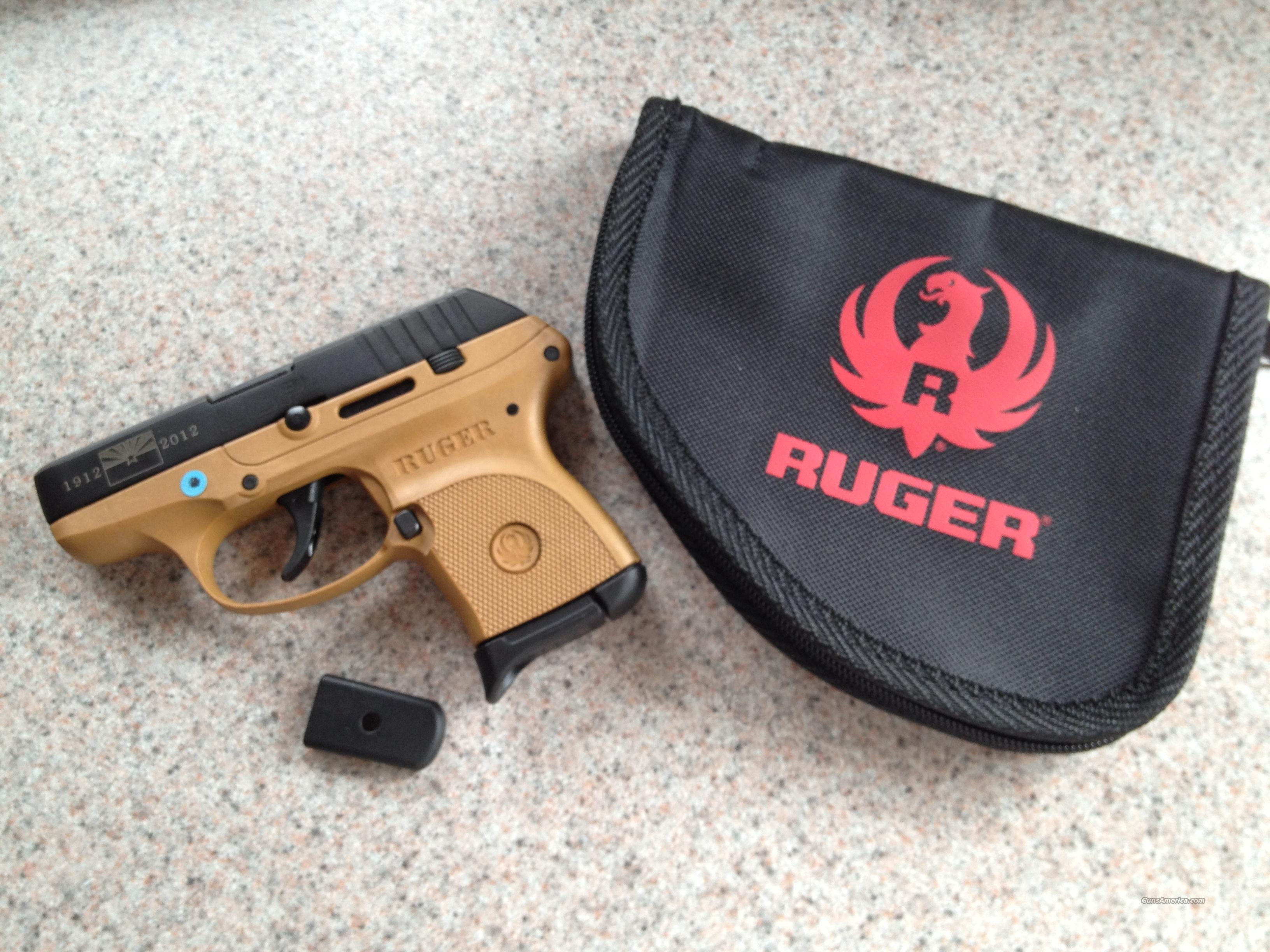 LIMITED EDITION RUGER LCP ** 100 YEARS ARIZONA Commemorative EDITION SPECIAL   Guns > Pistols > Ruger Semi-Auto Pistols > LCP