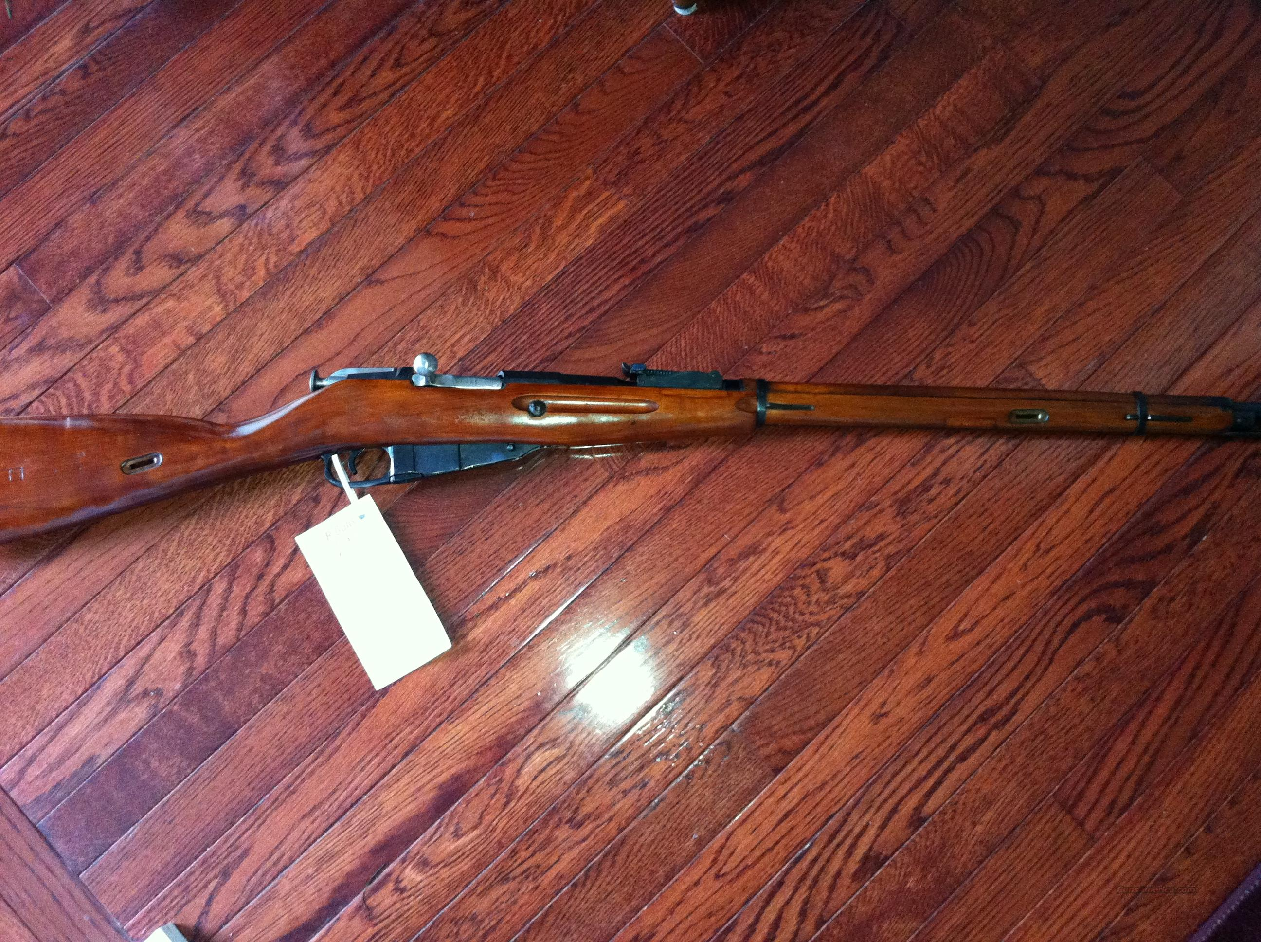 Russian 1891/30 7.62x54R Hex Mosin Nagant Rifle  Guns > Rifles > Mosin-Nagant Rifles/Carbines