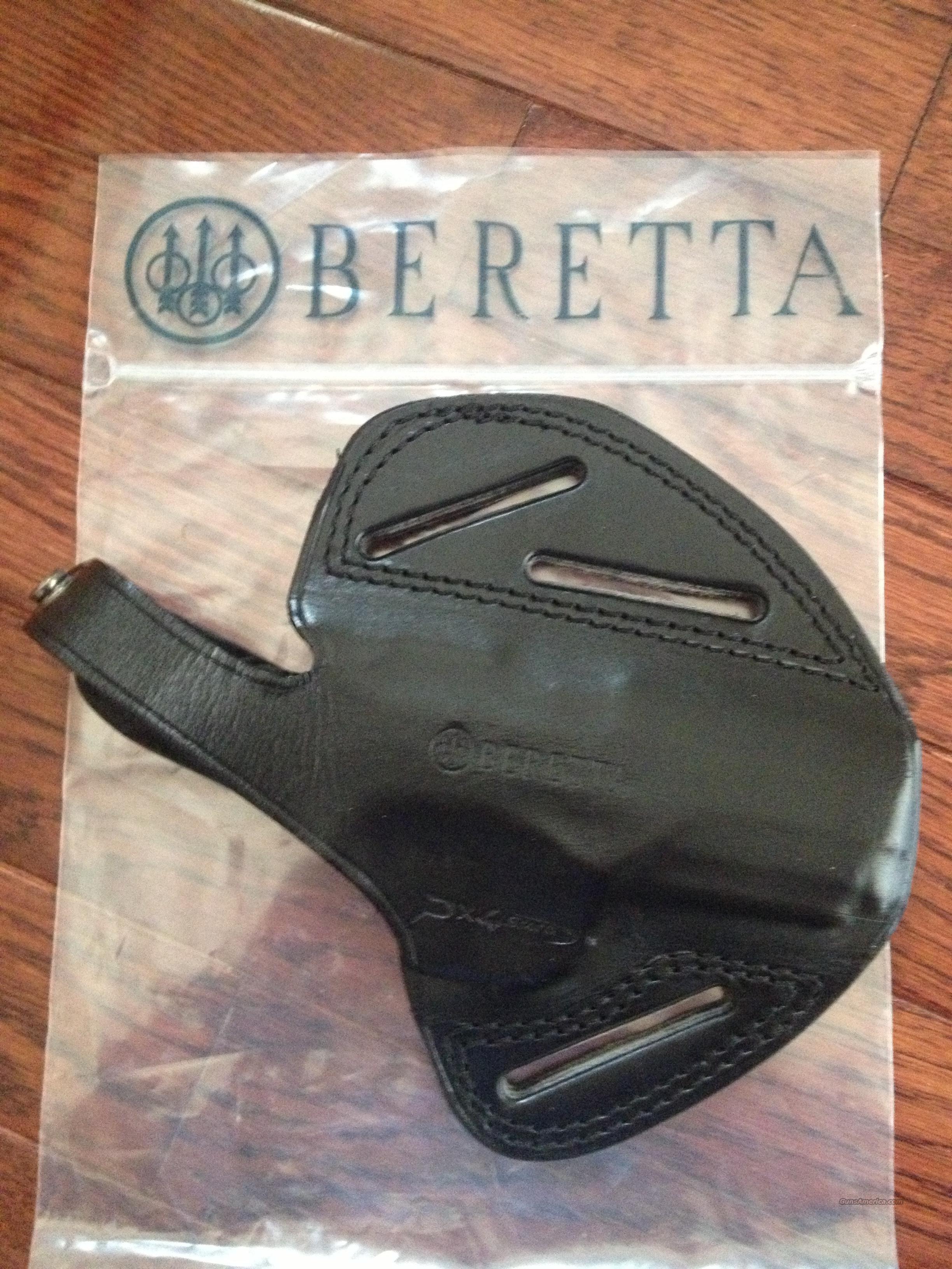 Beretta PX4 Storm  ( Compact & Sub Compact) All Leather Holster Made In Italy BRAND NEW!  Non-Guns > Holsters and Gunleather > Concealed Carry