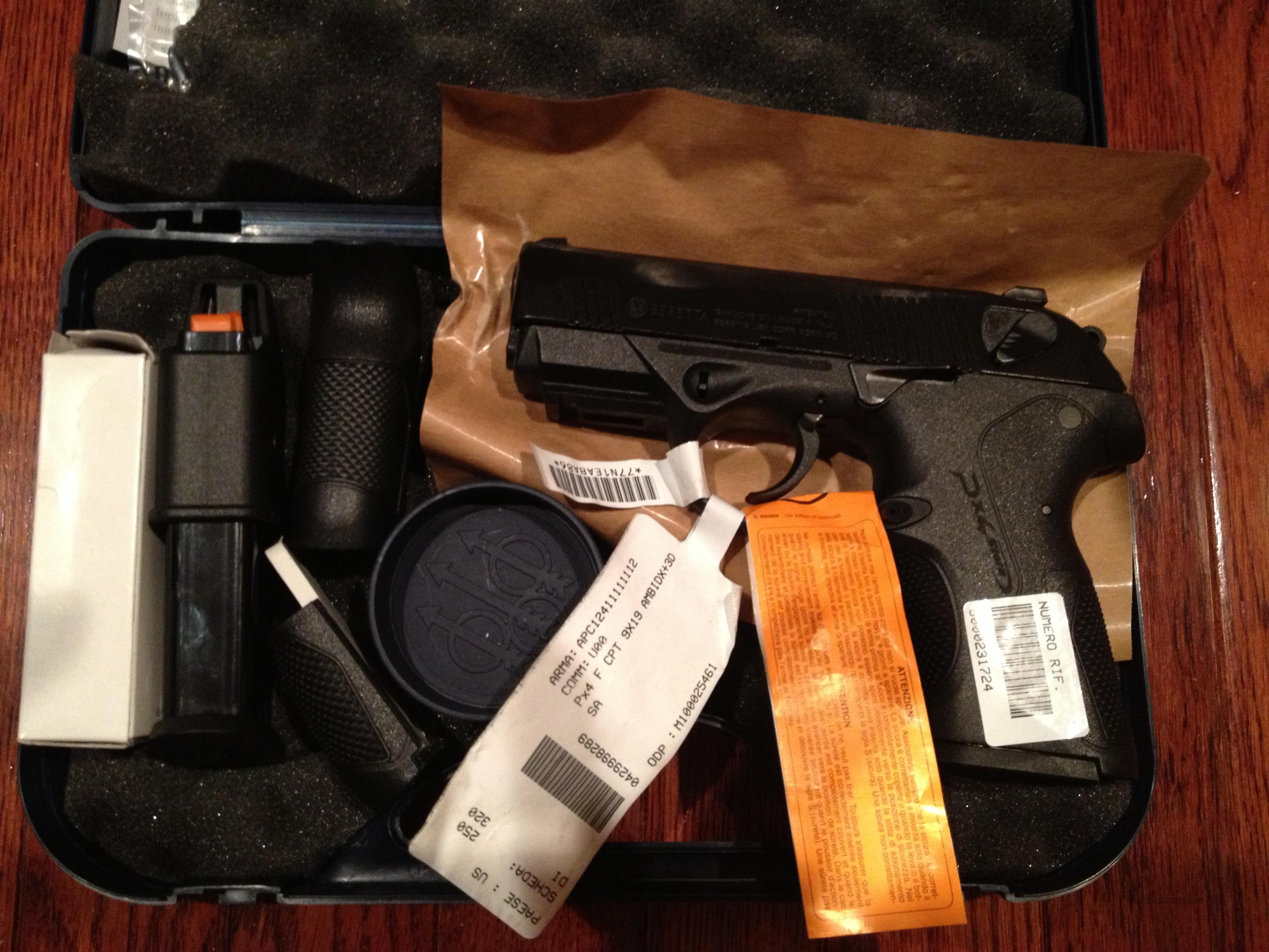 PRESIDENT'S DAY SPECIAL Beretta PX4 Storm Compact  NIB w/ 2 High CapacityMags, Case, Extra Grip Inserts  Guns > Pistols > Beretta Pistols > Polymer Frame