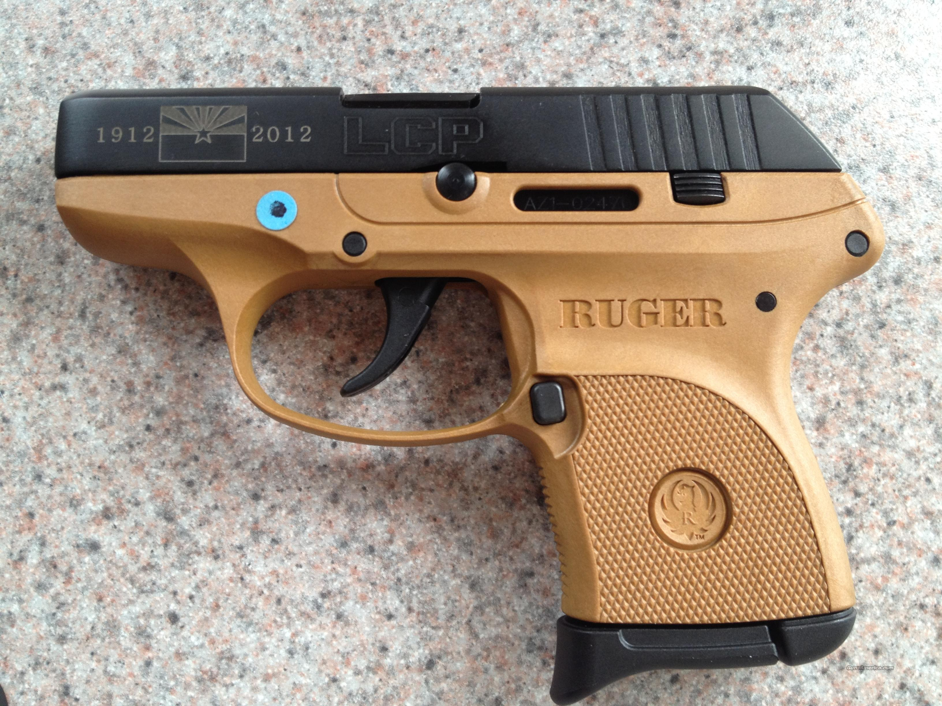 Ruger LCP ARIZONA 100 Years ANNIVERSERY EDITION  Guns > Pistols > Ruger Semi-Auto Pistols > LCP