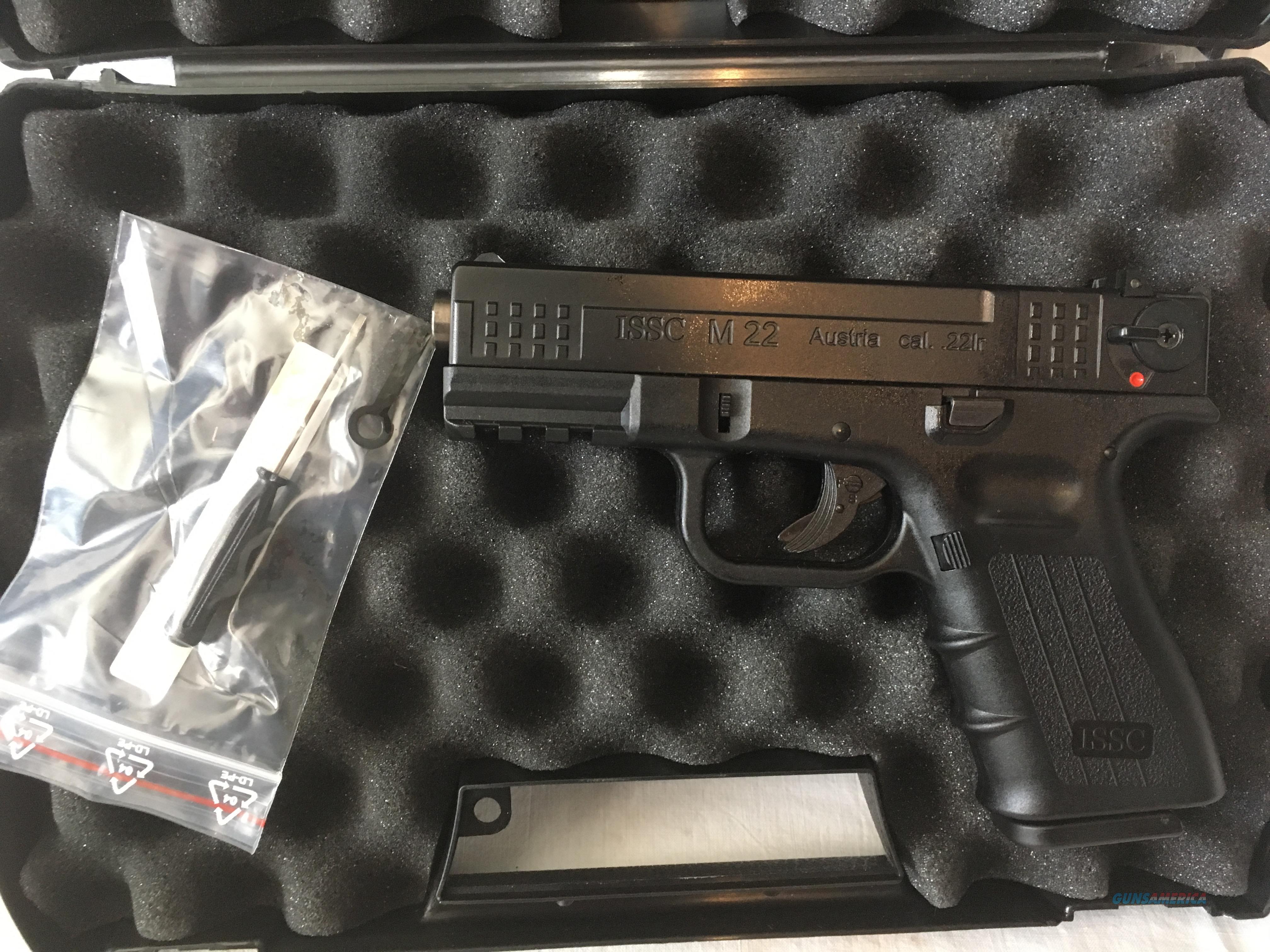 "ISSC M22 SD 22lr 4.37"" TB ""Glock Style""   Guns > Pistols > ISSC Pistols"