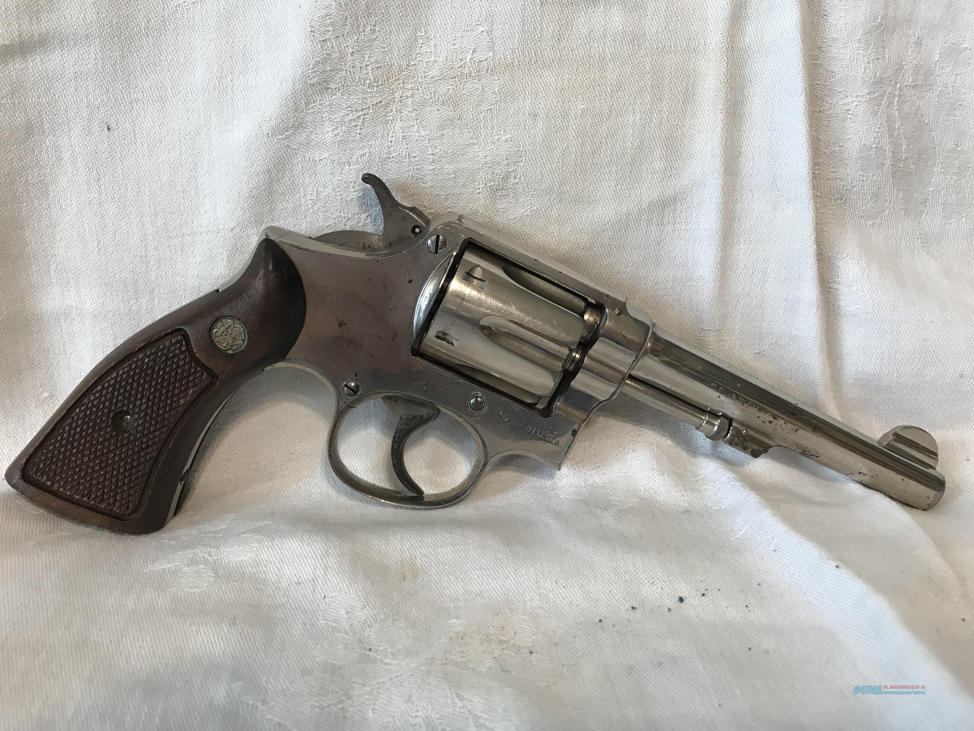 Smith & Wesson 38 Special Prewar 1905 4th Change  Guns > Pistols > Smith & Wesson Revolvers > Pre-1945