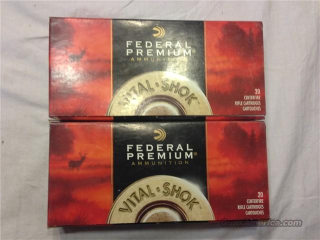 Federal Premium Vital-Shok Ammunition 300 Wby  Non-Guns > Ammunition