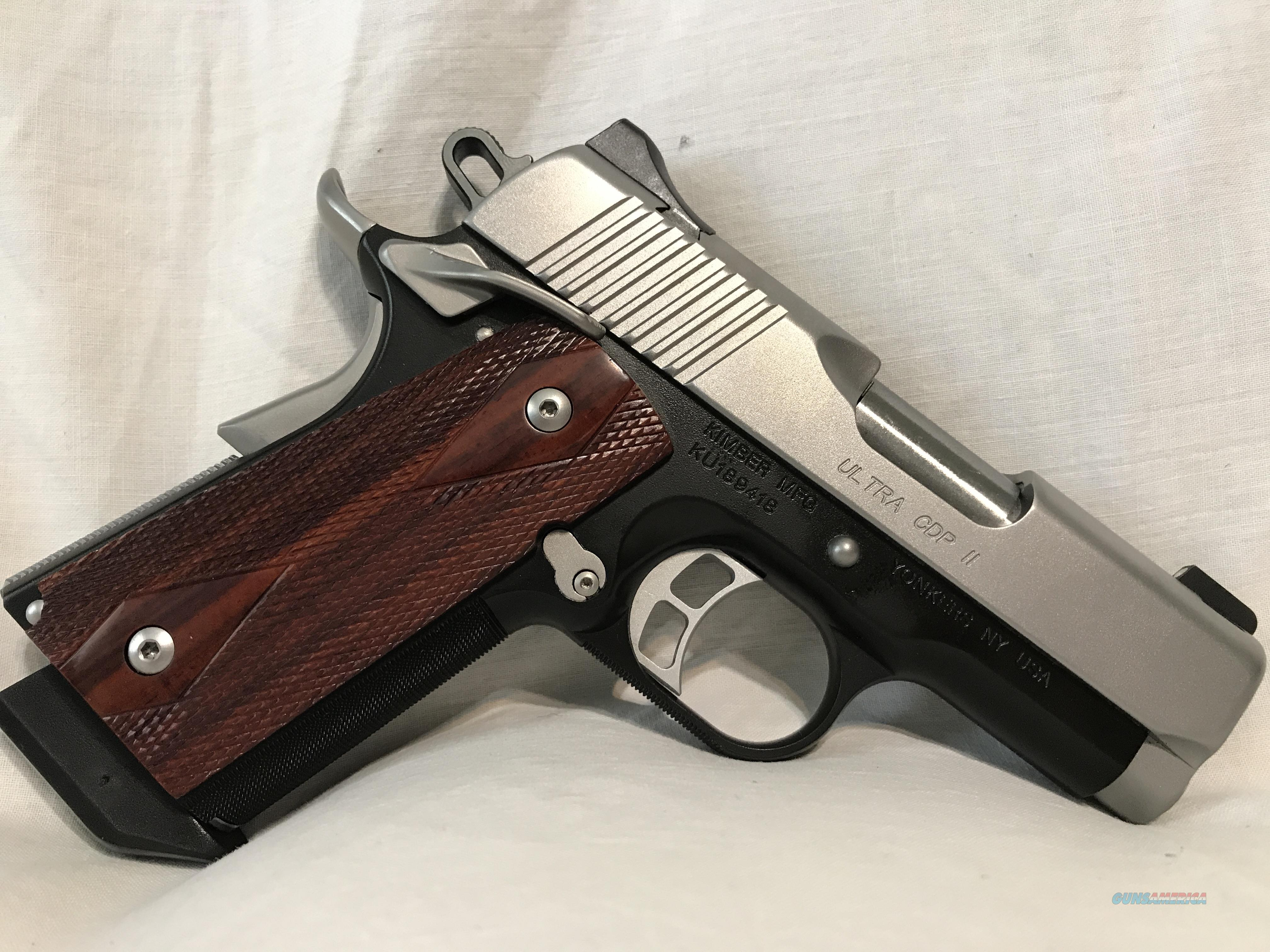 Kimber Ultra+ CDP II .45 ACP  Guns > Pistols > Kimber of America Pistols