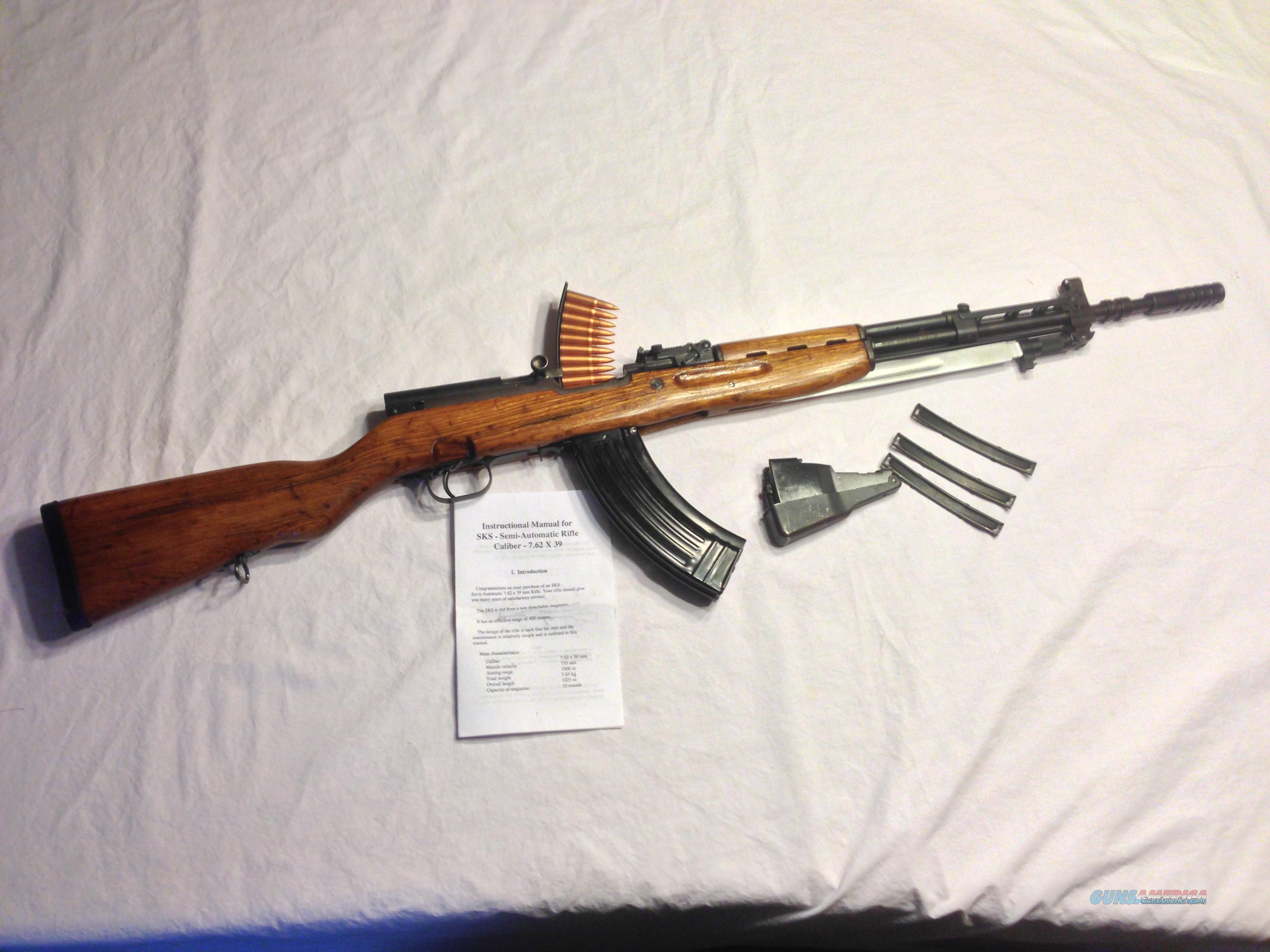 Refinished Yugo SKS 59/66 w/Grenade Launcher with 30 round mag. Guns