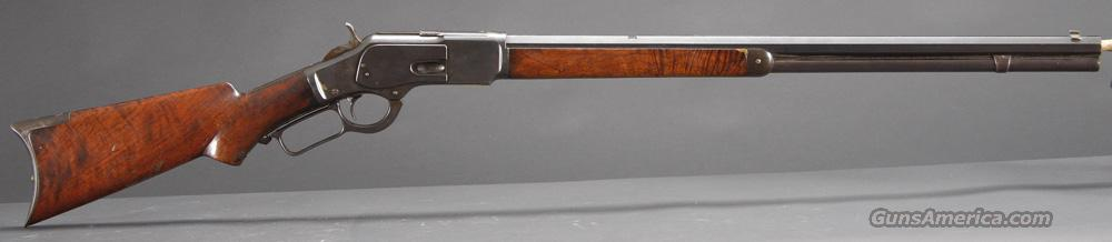 Winchester Model 1873 Deluxe  Guns > Rifles > Winchester Rifles - Pre-1899 Lever