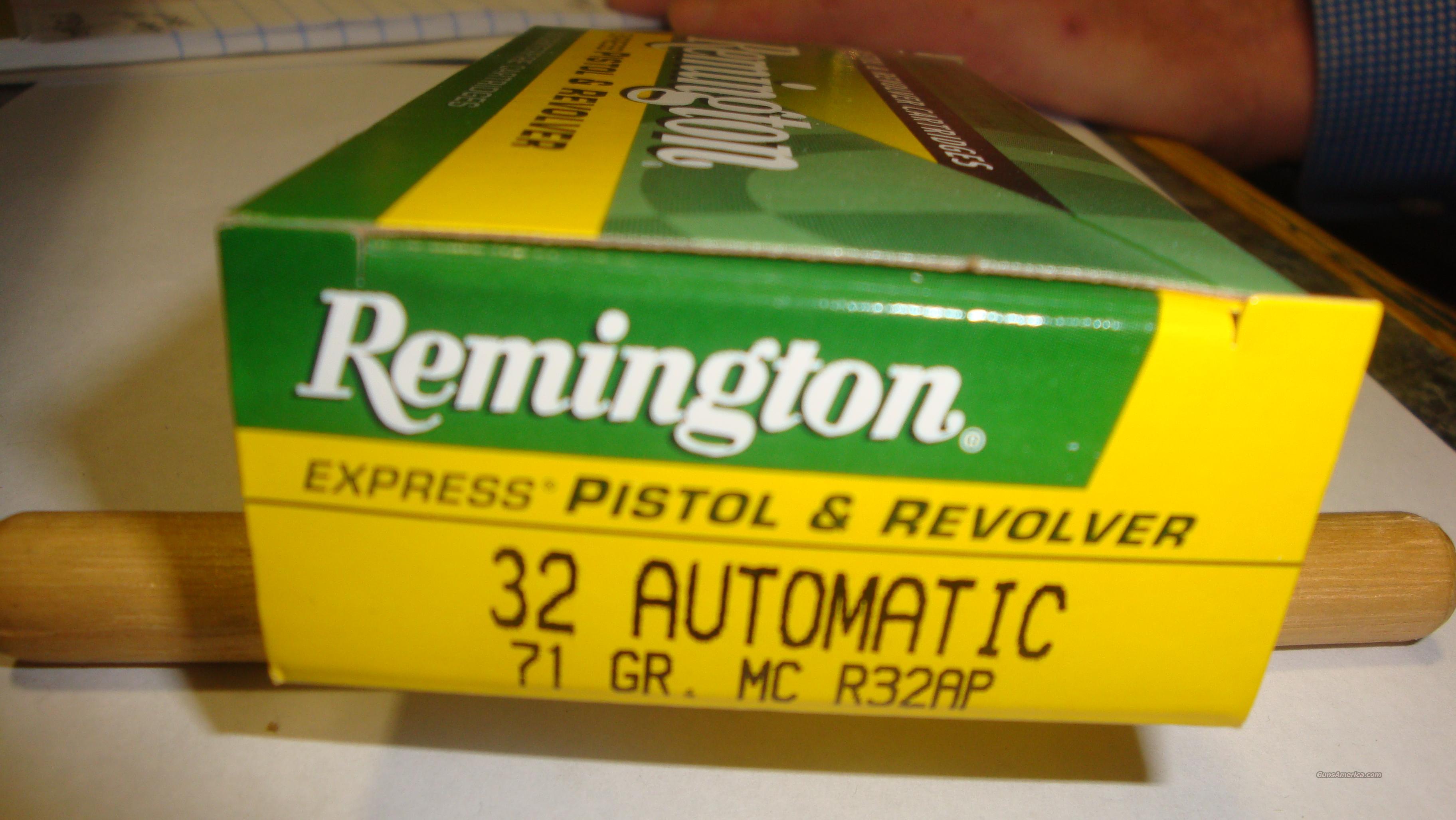 Remington 32 Automatic 71gr