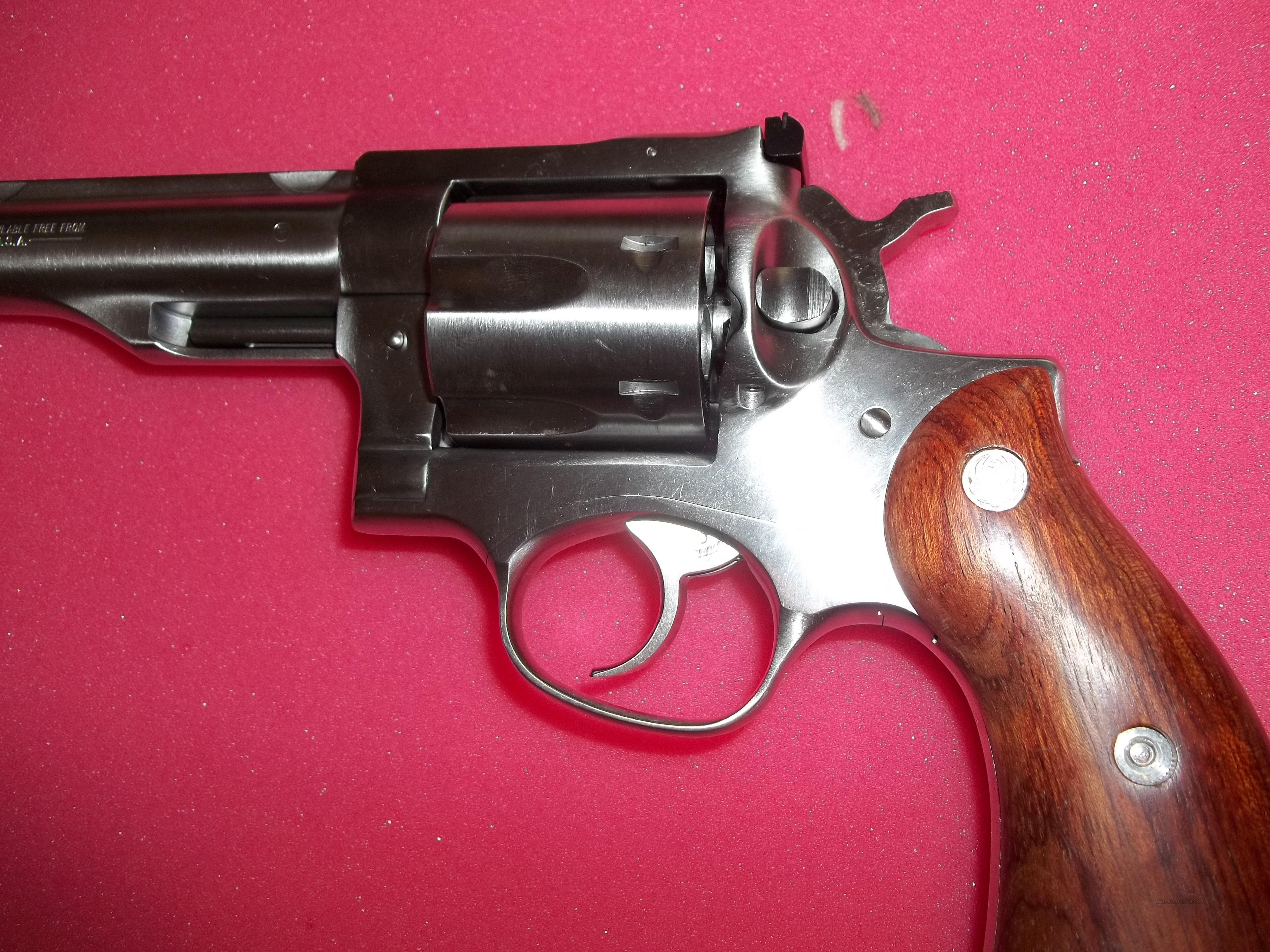 Ruger .44 Magnum Redhawk 7 1/2 inch Stainless   Guns > Pistols > Ruger Double Action Revolver > Redhawk Type