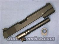 Colt 1911 .45acp Military National Match slide & barrel w/bushing  Non-Guns > Gun Parts > 1911