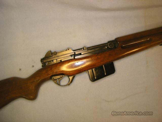 FN 1949 semi-auto rifle, 8mm Mauser, Egyptian contract  Guns > Rifles > FNH - Fabrique Nationale (FN) Rifles > Semi-auto > Other
