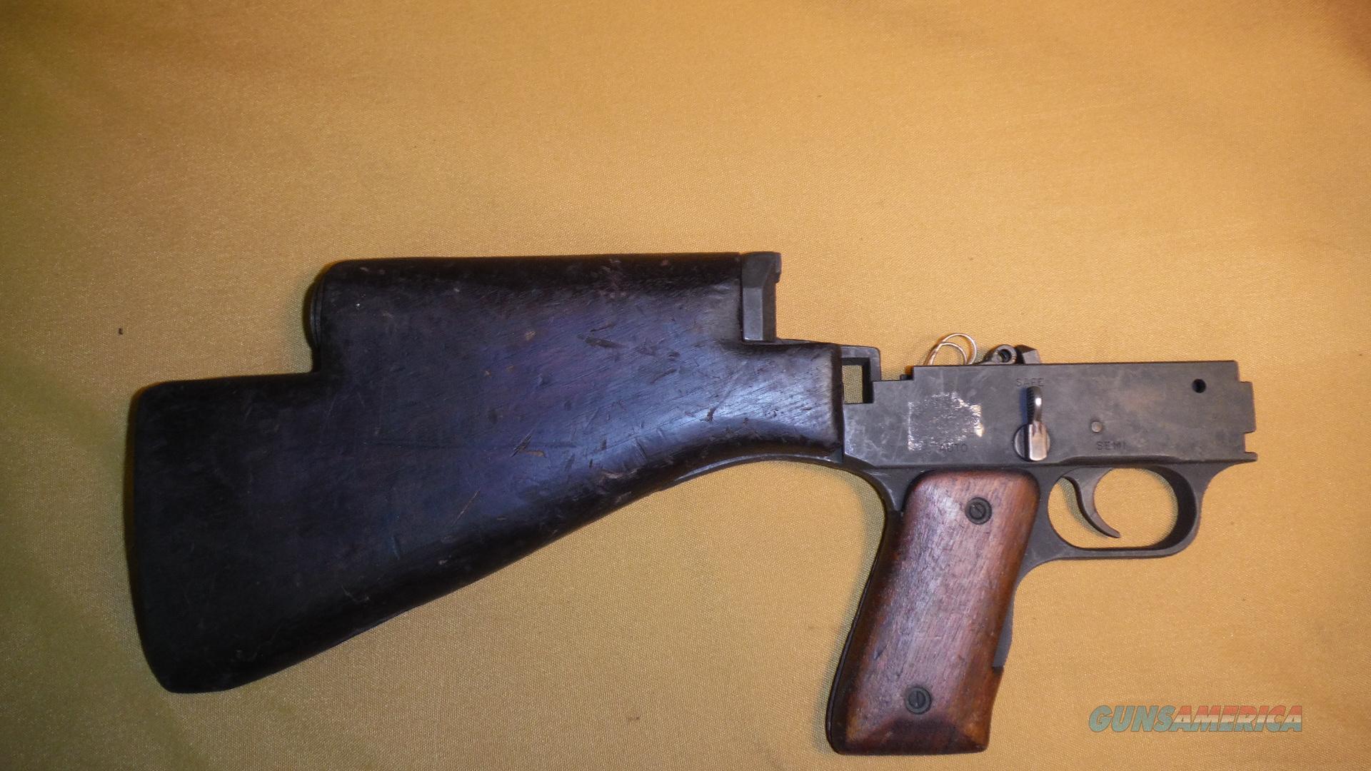 1941 johnson lmg trigger housing w butt stock non guns gt gun parts