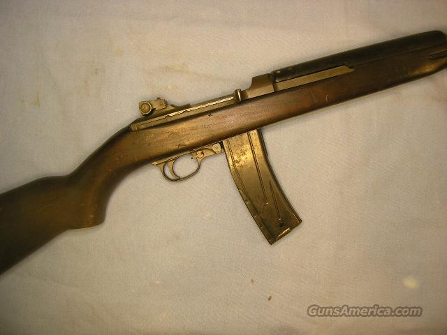 Saginaw SG WWII M1 Carbine .30 caliber  Guns > Rifles > Military Misc. Rifles US > M1 Carbine