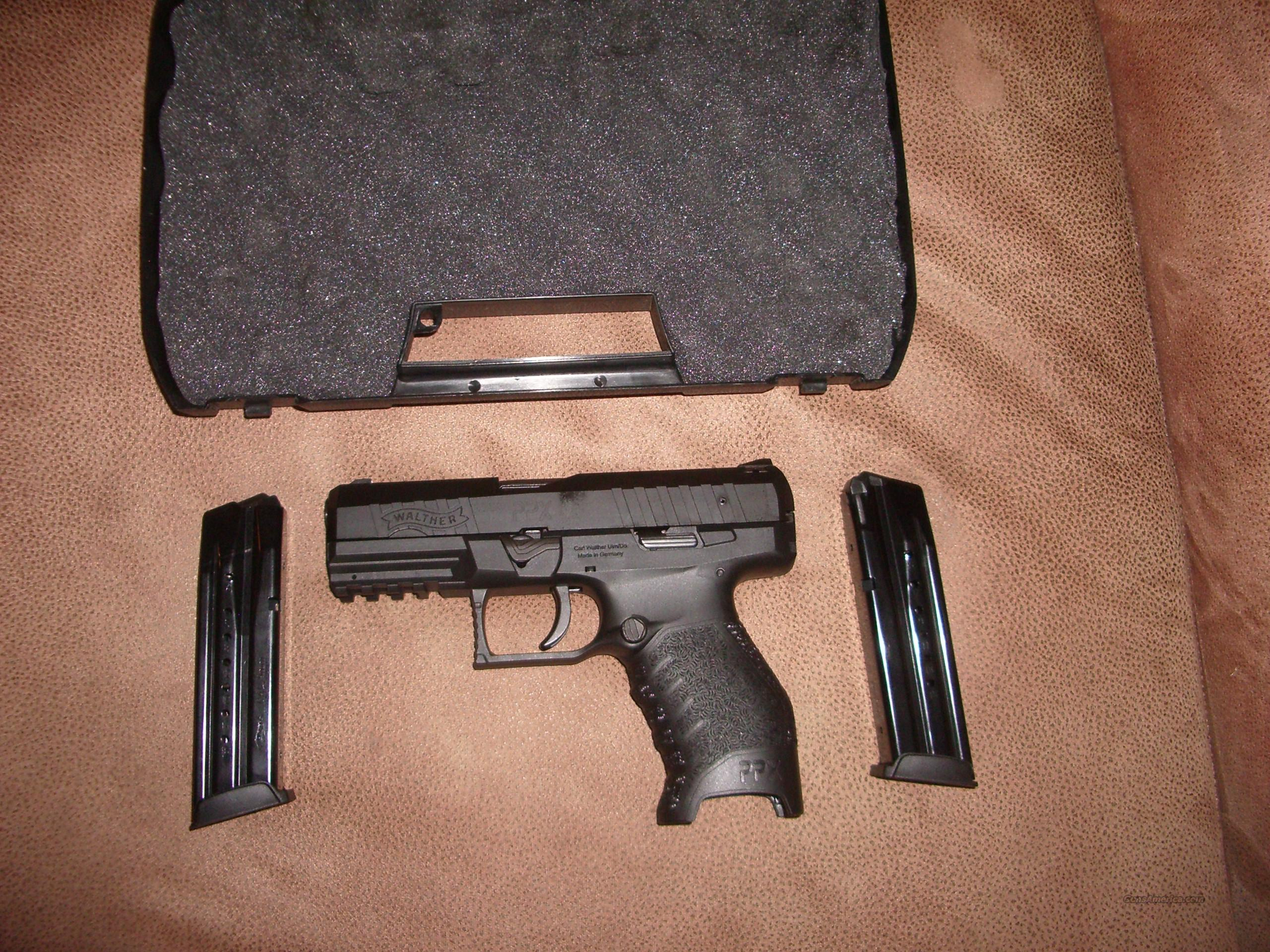 walther ppx 9mm  Guns > Pistols > Walther Pistols > Post WWII > Target Pistols