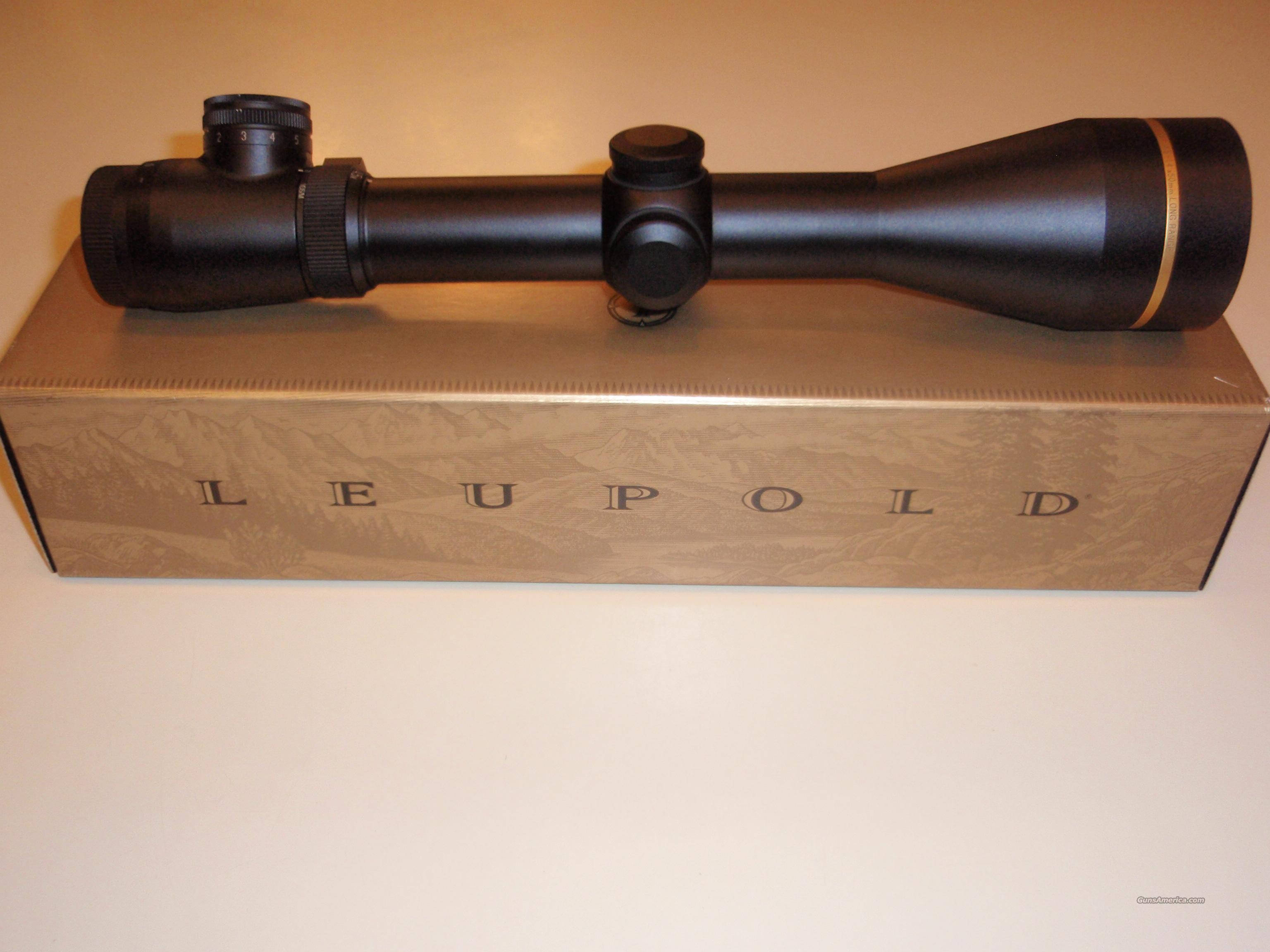 leupold 4.5-14x50 illumnated reticle  Non-Guns > Scopes/Mounts/Rings & Optics > Rifle Scopes > Variable Focal Length