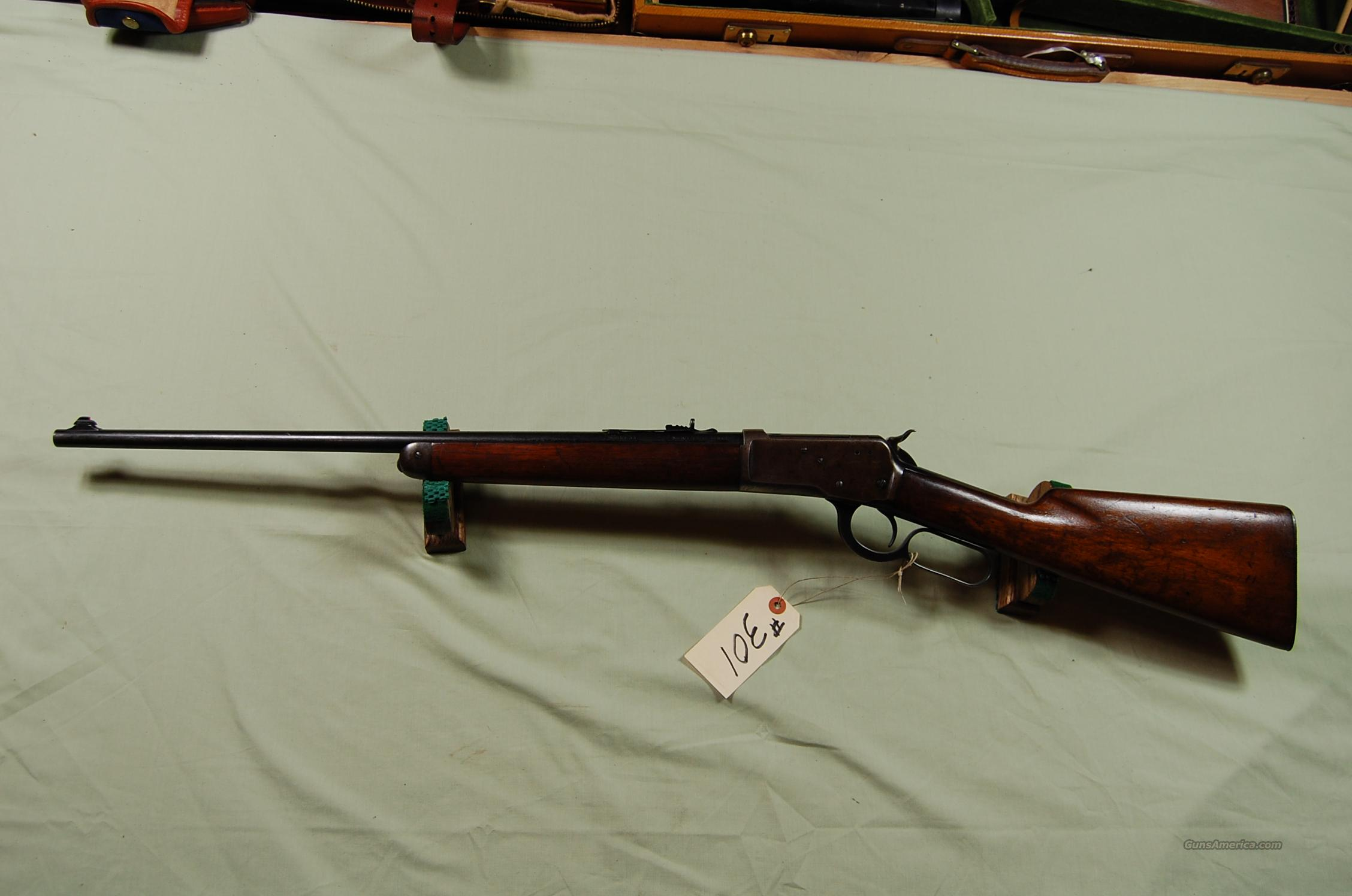 Winchester Model 53 32-20  Guns > Rifles > Winchester Rifles - Modern Lever > Other Lever > Pre-64