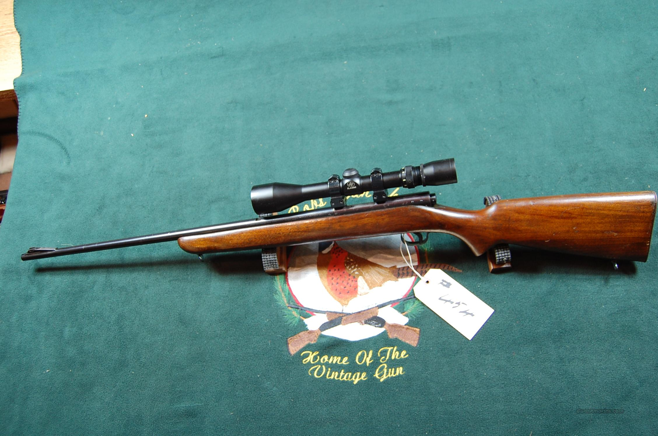 Winchester model 43  Guns > Rifles > Winchester Rifles - Modern Bolt/Auto/Single > Other Bolt Action