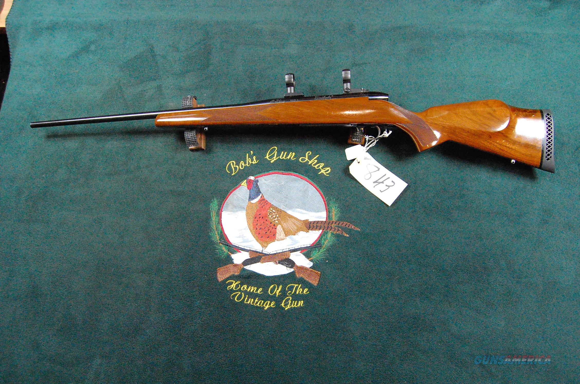 Weatherby Mark V .257 WM  Guns > Rifles > Weatherby Rifles > Sporting