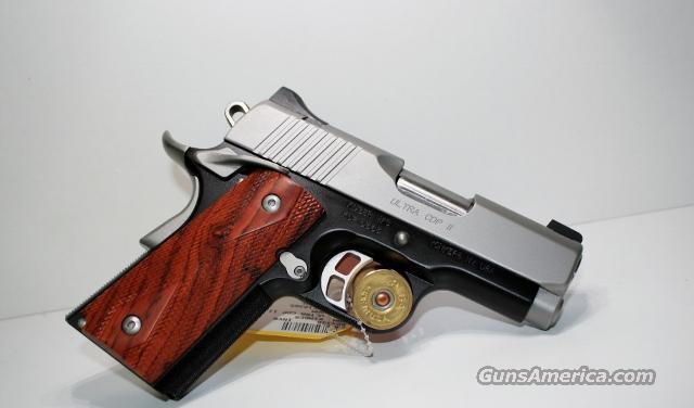 KIMBER ULTRA CDP II 9MM FREE EXTRA MAG  Guns > Pistols > Kimber of America Pistols