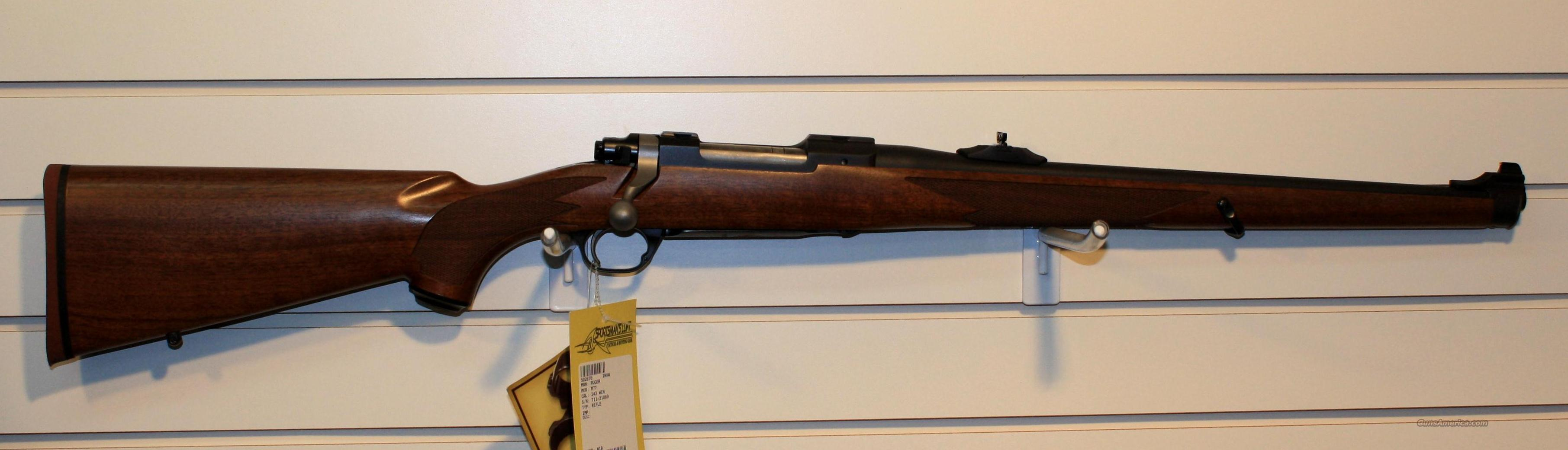 RUGER M77 HAWKEYE MANNLICHER STOCK .243 NICE !!  Guns > Rifles > Ruger Rifles > Model 77