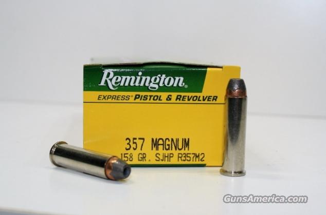 REMINGTON 357 MAG 158gr SJHP R357M2 500rds  Non-Guns > Ammunition