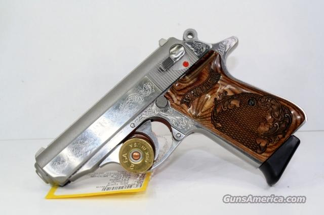 WALTHER PPK/S-1 STAINLESS ENGRAVED   Guns > Pistols > Walther Pistols > Post WWII > PPK Series