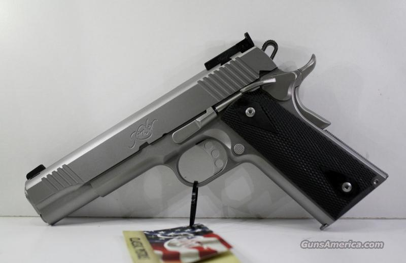 KIMBER STAINLESS TARGET II 10MM New in Box  Guns > Pistols > Kimber of America Pistols