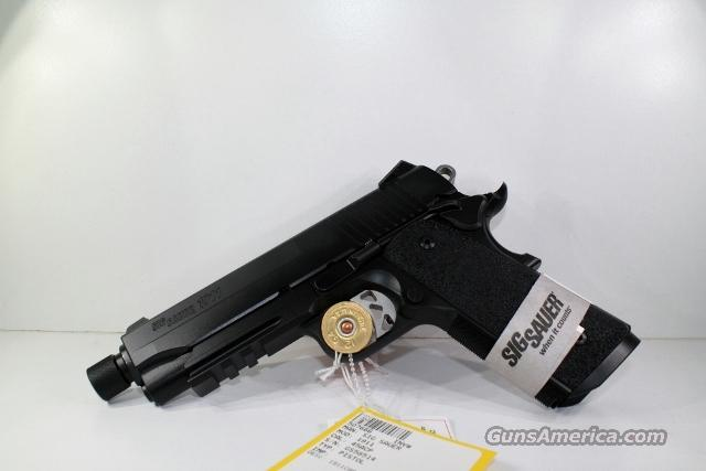 SIG SAUER 1911 TACOPS CARRY THREADED  Guns > Pistols > Sig - Sauer/Sigarms Pistols > 1911