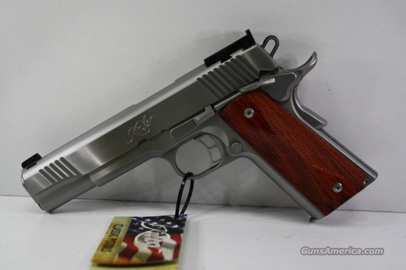KIMBER STAINLESS GOLD MATCH II 9MM New in Box  Guns > Pistols > Kimber of America Pistols