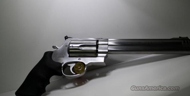 "SMITH AND WESSON 460 8/38"" COMPED  Guns > Pistols > Smith & Wesson Revolvers > Full Frame Revolver"