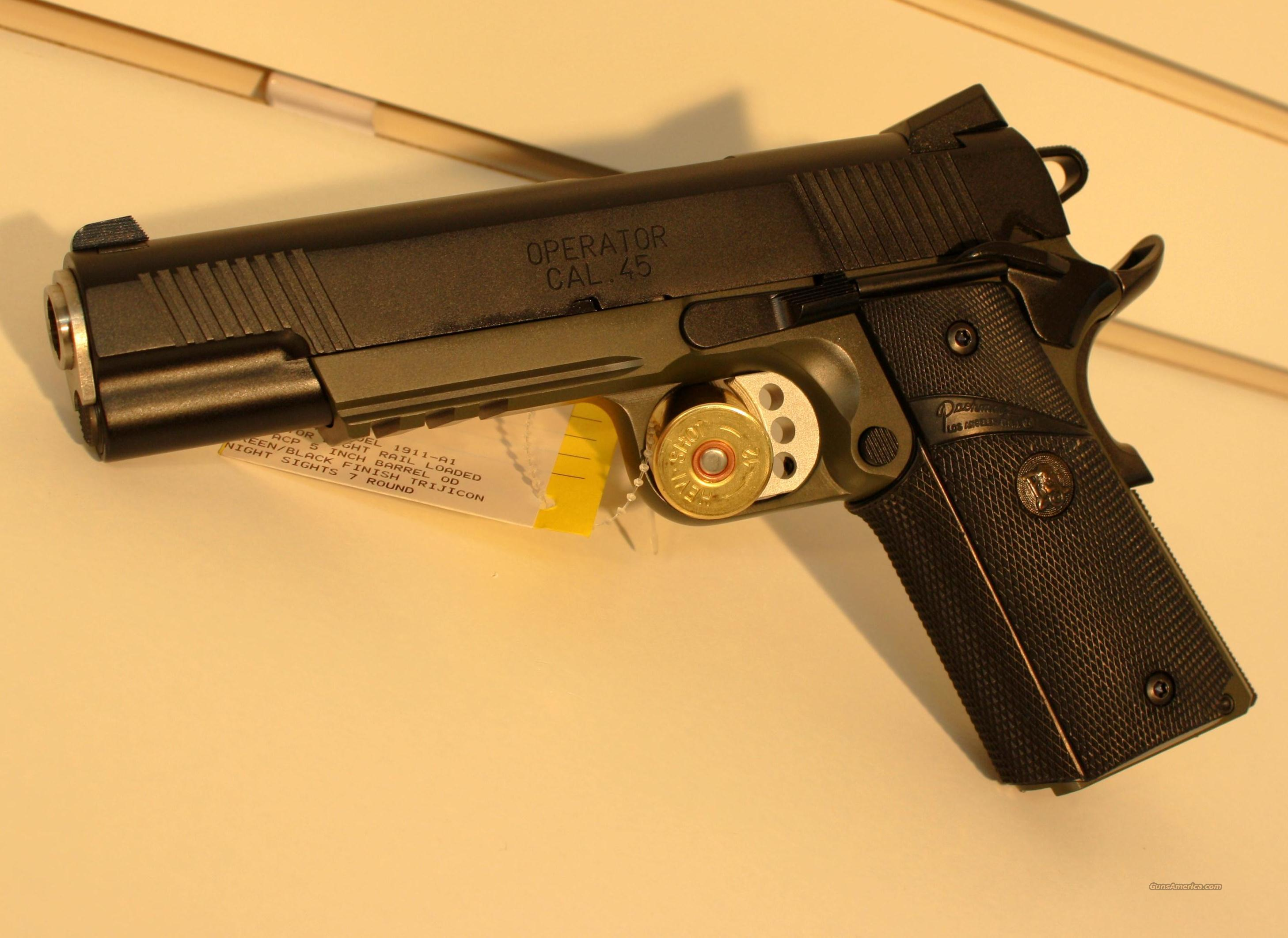 SPRINGFIELD 1911 OPERATOR LOADED PX9105MLP   Guns > Pistols > Springfield Armory Pistols > 1911 Type