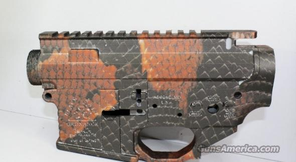 BLACK RAIN ORDNANCE FALLOUT 15 RED SNAKE SKIN UPPER & LOWER  Guns > Rifles > B Misc Rifles