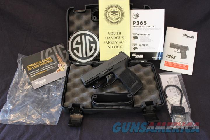 Gently Used Sig Sauer P365 9mm w/ Box & Papers  Guns > Pistols > Sig - Sauer/Sigarms Pistols > P365