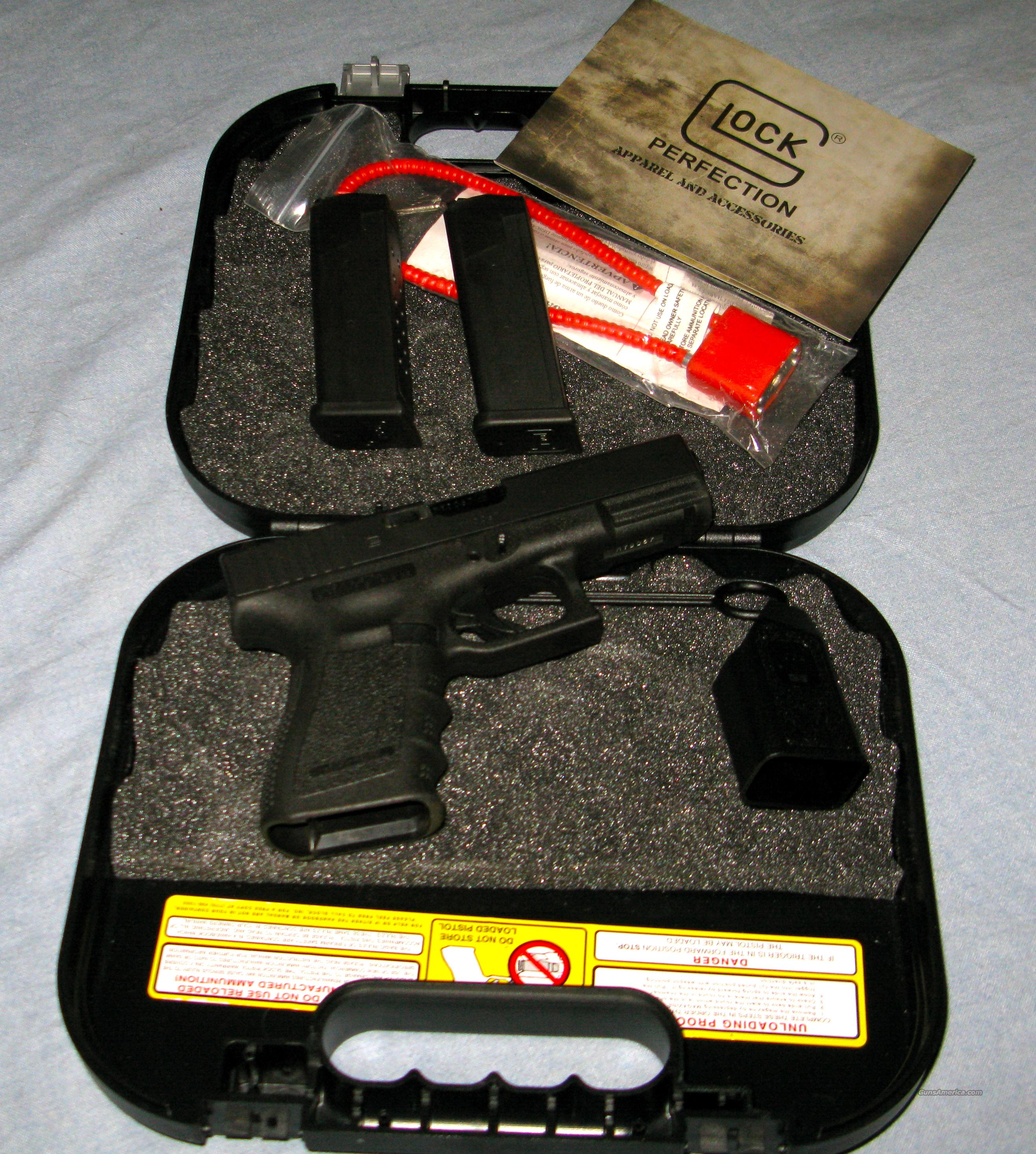 Glock 19 9MM LIKE NEW  Guns > Pistols > Glock Pistols > 19