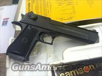 NEW Desert Eagle, .50 AE, Black, Made in Israel  Guns > Pistols > Magnum Research Pistols