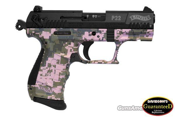 Walther P22 Digital Pink Camo With a Lifetime Warranty  Guns > Pistols > Walther Pistols > Post WWII > Target Pistols
