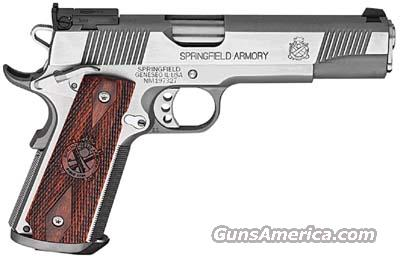 New SPRINGFIELD ARMORY TROPHY MATCH SS  1911  45ACP PISTOL (PI9140LP)  Guns > Pistols > Springfield Armory Pistols > 1911 Type