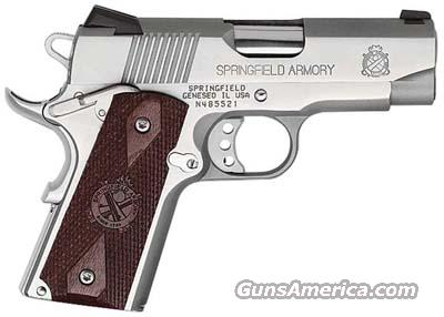Springfield 1911 A1 Loaded Ultra Compact Stainless Steel  Guns > Pistols > Springfield Armory Pistols > 1911 Type