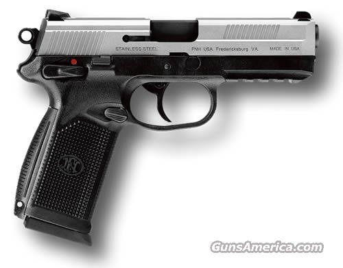 New FNH USA FNP-45 USG 45 ACP SS W/NS  Guns > Pistols > FNH - Fabrique Nationale (FN) Pistols > FNP