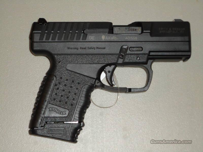 "Walther PPS 6 + 1 Round 40 S & W w/3.2"" Barrel/Black Finish  Guns > Pistols > Walther Pistols > Post WWII > PPS"