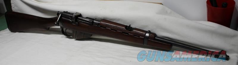 Santa Fe British Jungle carbine used 303 Enfield   Guns > Rifles > Enfield Rifle