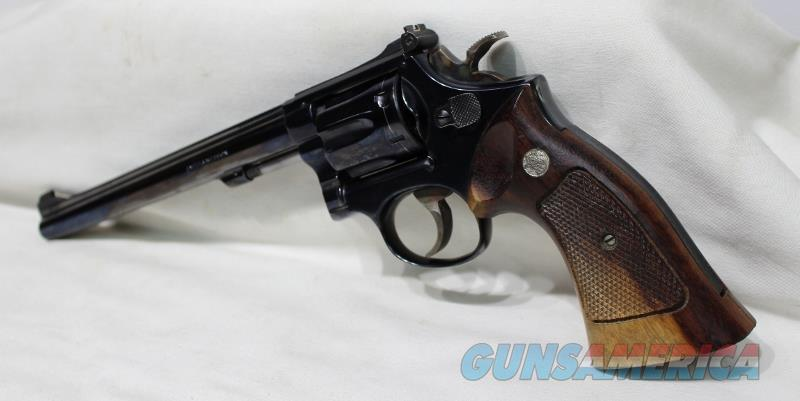 "S&W 17-3 8 3/8"" pinned recessed 22LR used  Guns > Pistols > Smith & Wesson Revolvers > Med. Frame ( K/L )"