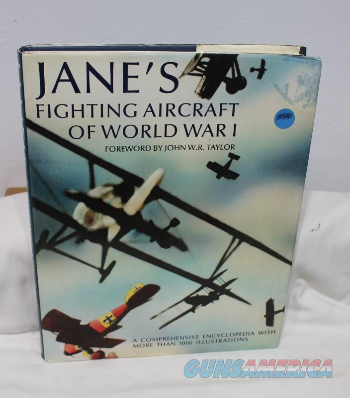 Janes fighting aircraft of WWI book airplanes  Non-Guns > Books & Magazines