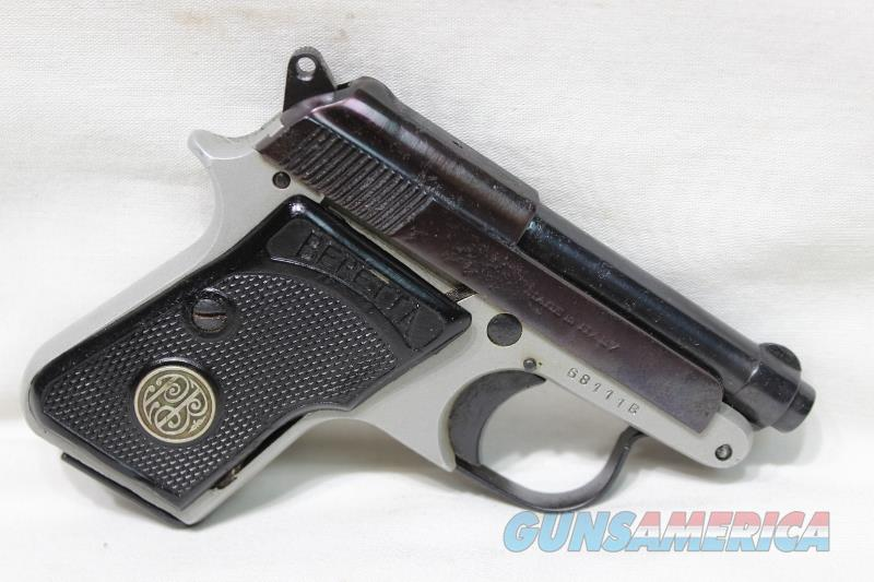 Beretta 950 6.35 25acp two tone Italy used  Guns > Pistols > Beretta Pistols > Small Caliber Tip Out