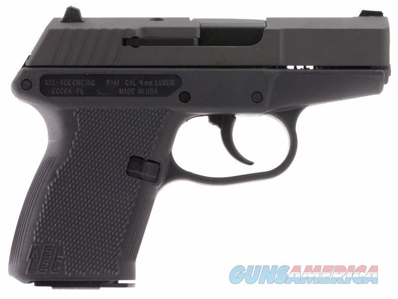 Kel Tec P11 9mm P-11 parkerized black NEW not LCP  Guns > Pistols > Kel-Tec Pistols > Pocket Pistol Type