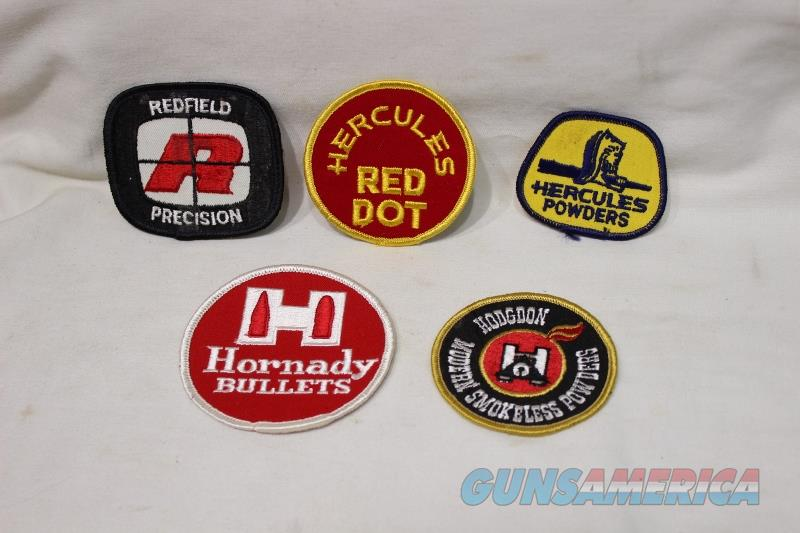 Hodgdon Redfield Hercules patches  Non-Guns > Logo & Clothing Merchandise