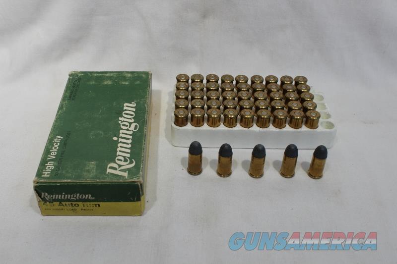 Remington 45 auto rim 230gr lead 50rds  Non-Guns > Ammunition