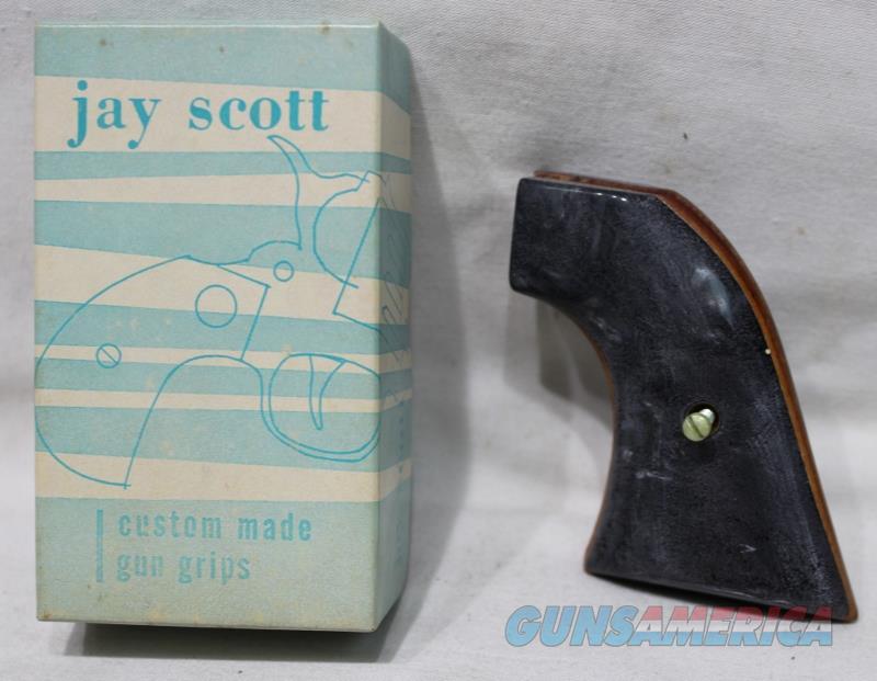 Jay Scott Ruger XR3 black pearl grips  Non-Guns > Gunstocks, Grips & Wood