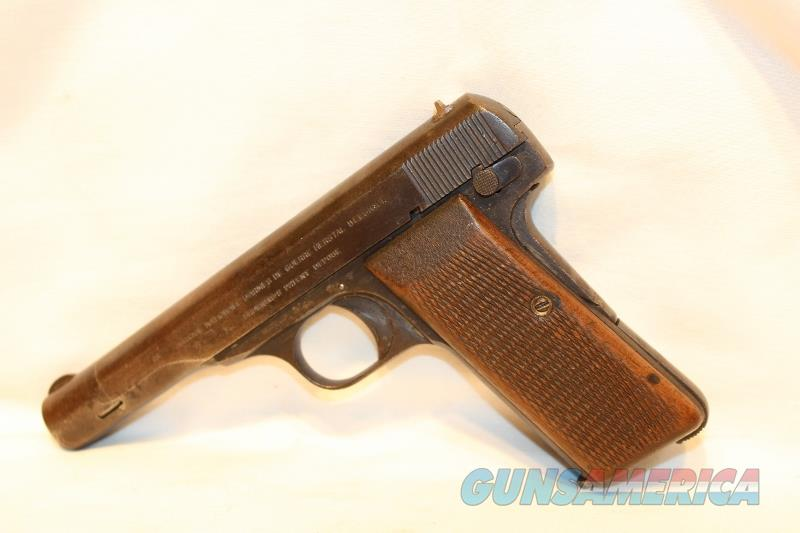 FN 1922 32acp NAZI marked numbers matching  Guns > Pistols > FNH - Fabrique Nationale (FN) Pistols > Pre-War