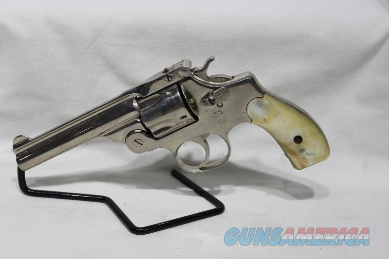 S&W 38 double action perfected model 1909 Mother of Pearl  Guns > Pistols > Smith & Wesson Revolvers > Pre-1945